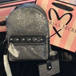 Victoria's Secret Backpack and wallet